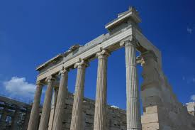 columns greek architecture style and columns